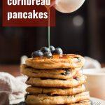 Blueberry Cornbread Pancakes
