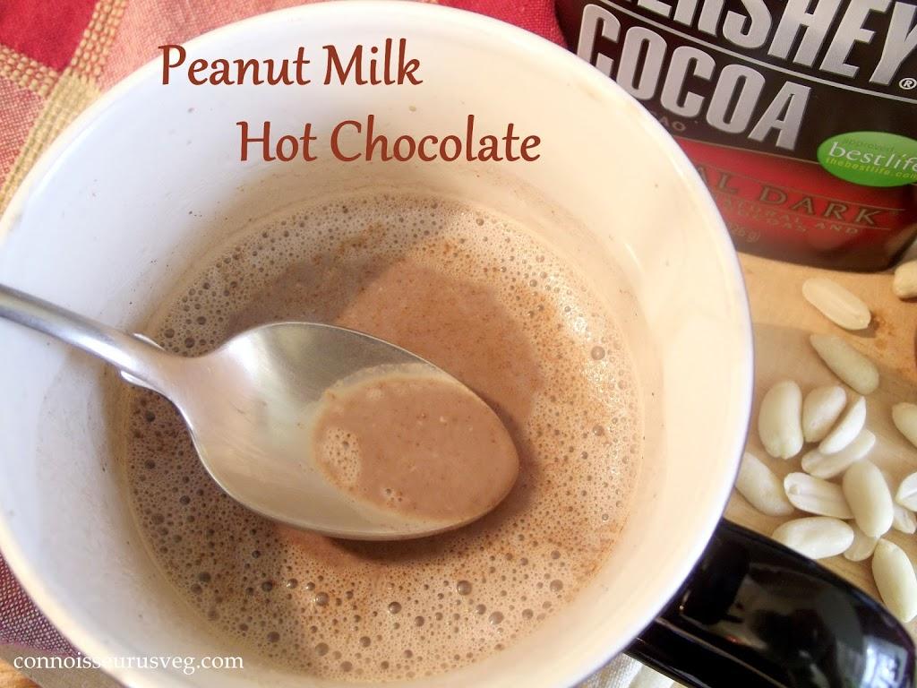Peanut Milk Hot Chocolate - Connoisseurus Veg