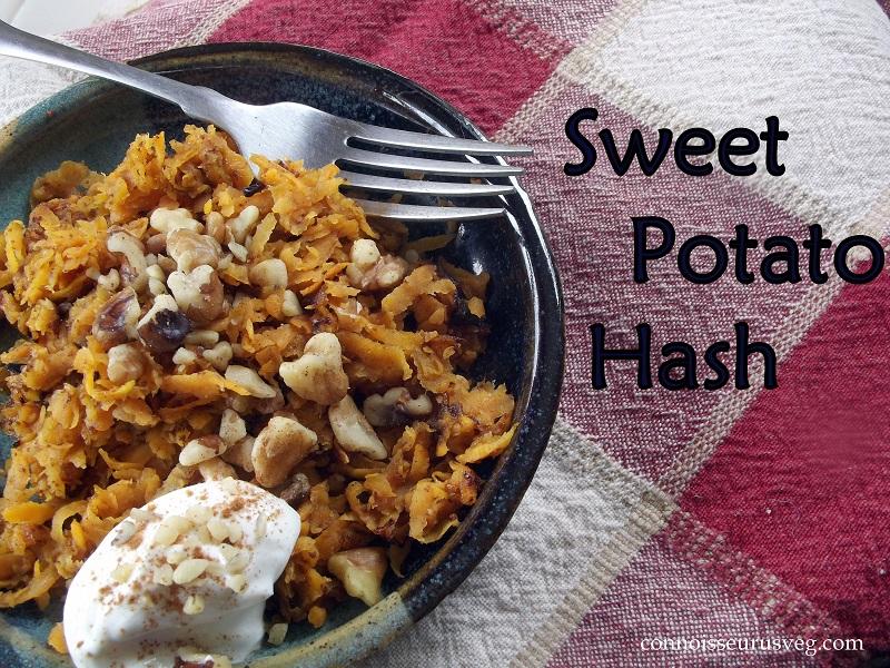 Sweet Potato Pancakes…The Sequel: Sweet Potato Hash Browns