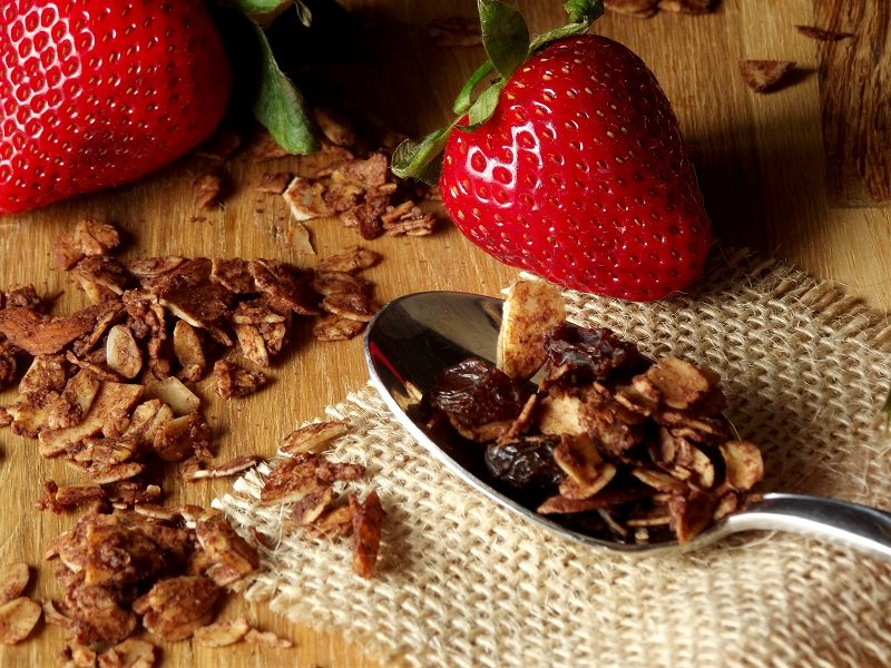 Almond Chocolate Granola