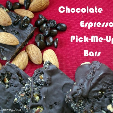 Chocolate Espresso Pick-Me-Up Bars