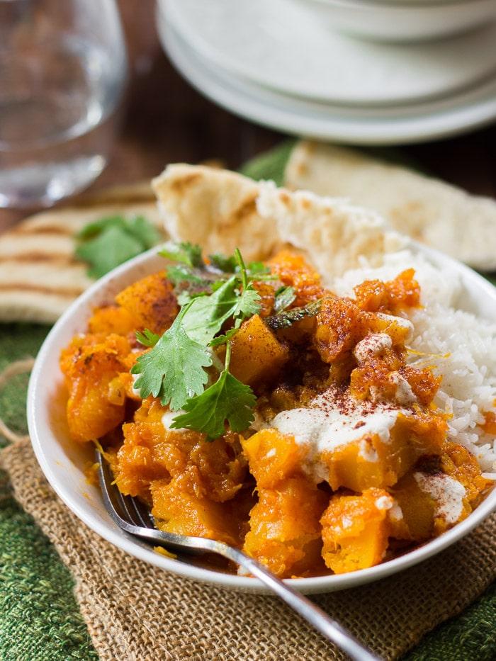 Spiced Afghan Pumpkin Stew