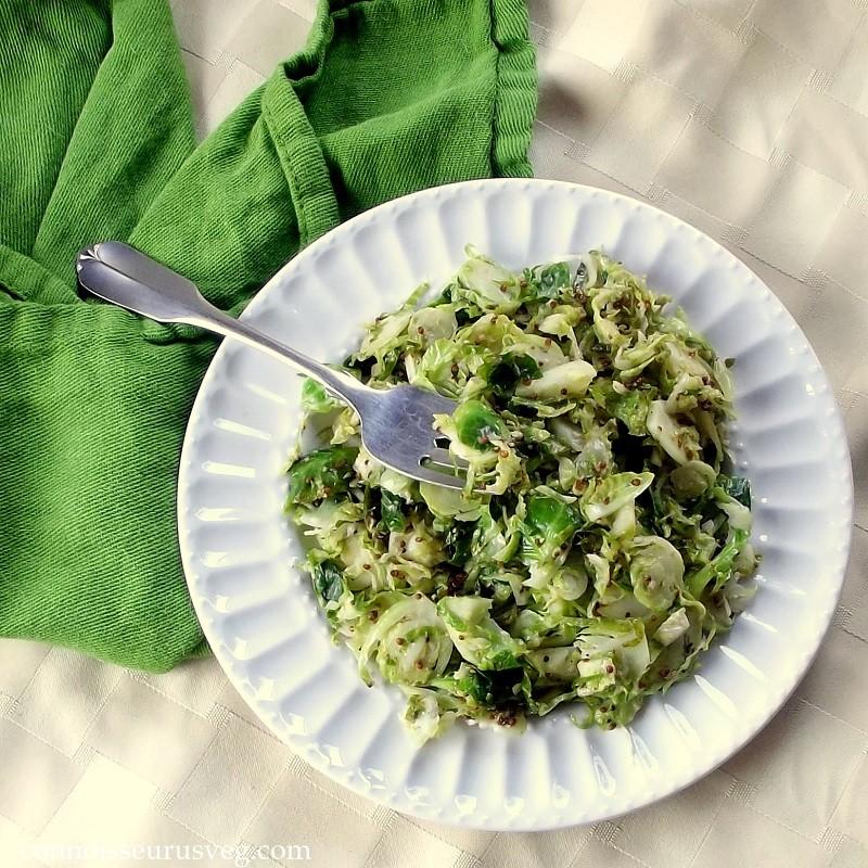 Sautéed Dijon Brussels Sprouts
