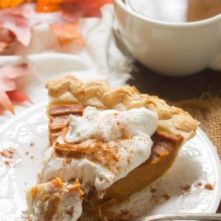 Chai-Spiced Vegan Sweet Potato Pie