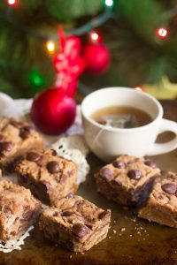 Chocolate Chunk Cookie Butter Blondies