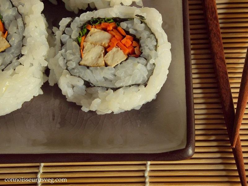 Smoky Tofu & Veggie Sushi