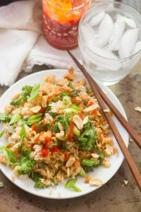 Kale & Peanut Butter Fried Rice
