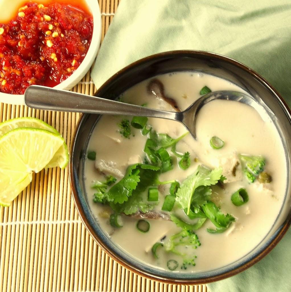 Thai Coconut and Lemongrass Soup