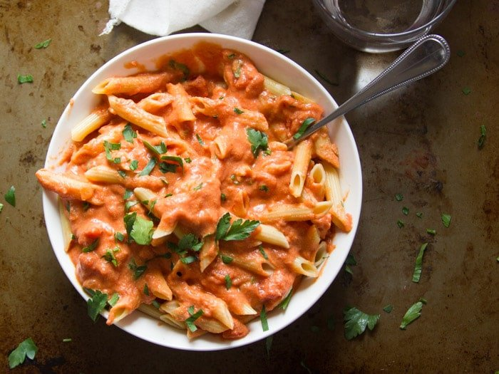 Vegan Vodka Sauce