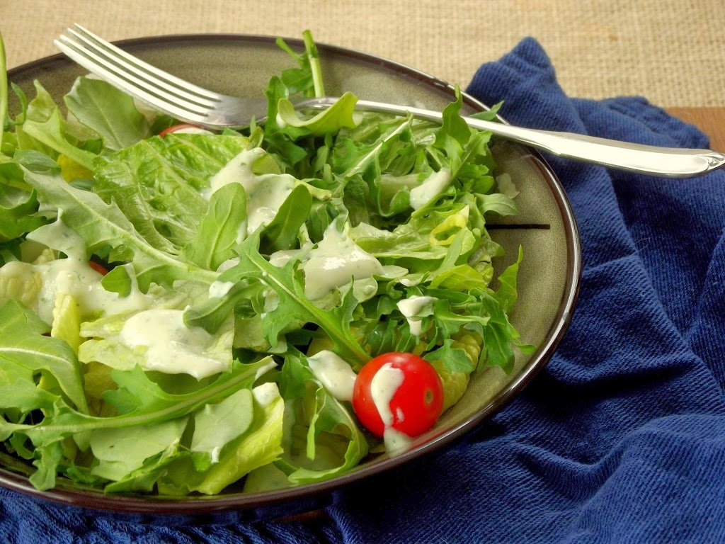 Silken Tofu Vegan Ranch Dressing