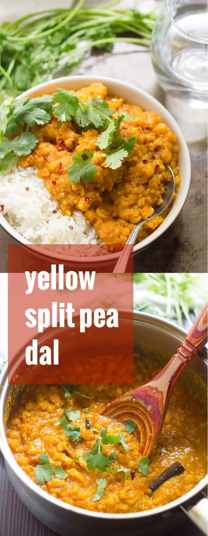 Yellow Split Pea Dal