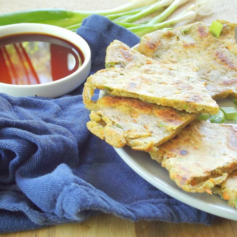 Veggie Scallion Pancakes