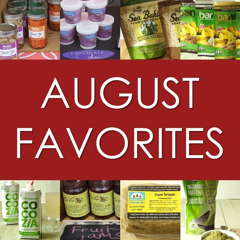 august favorites header