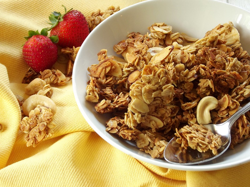 Ginger Coconut Milk Granola