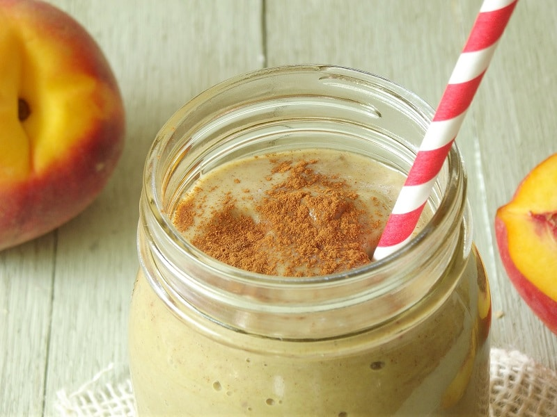 Peach Pie Avocado Smoothie