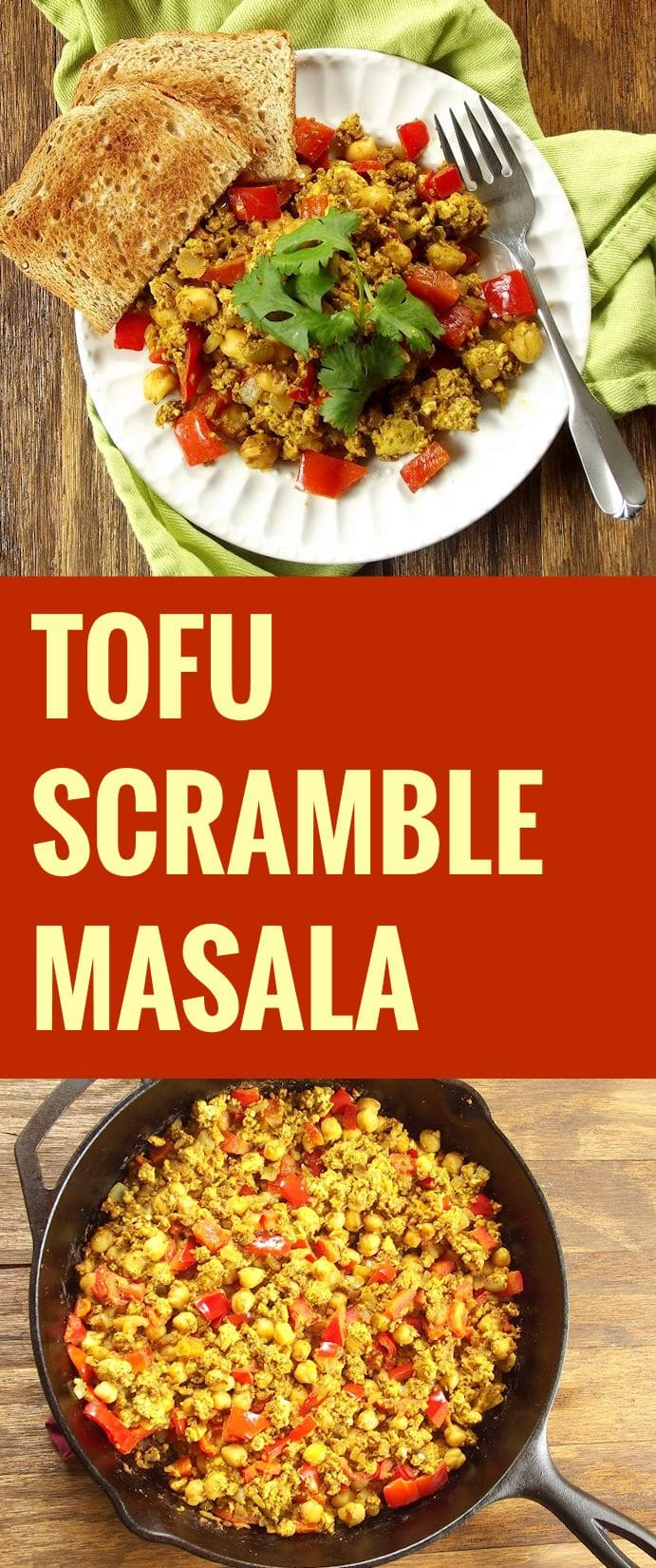 Tofu Scramble Masala