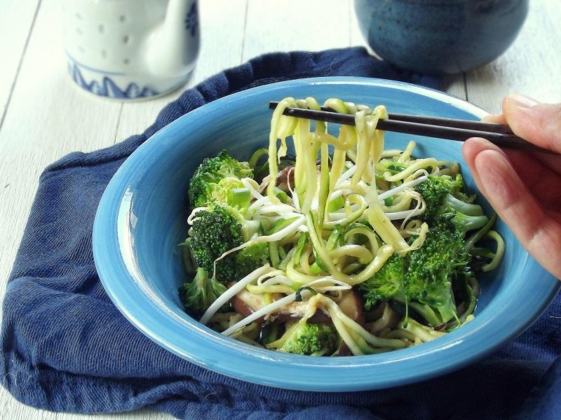 Zucchini Noodle Lo Mein