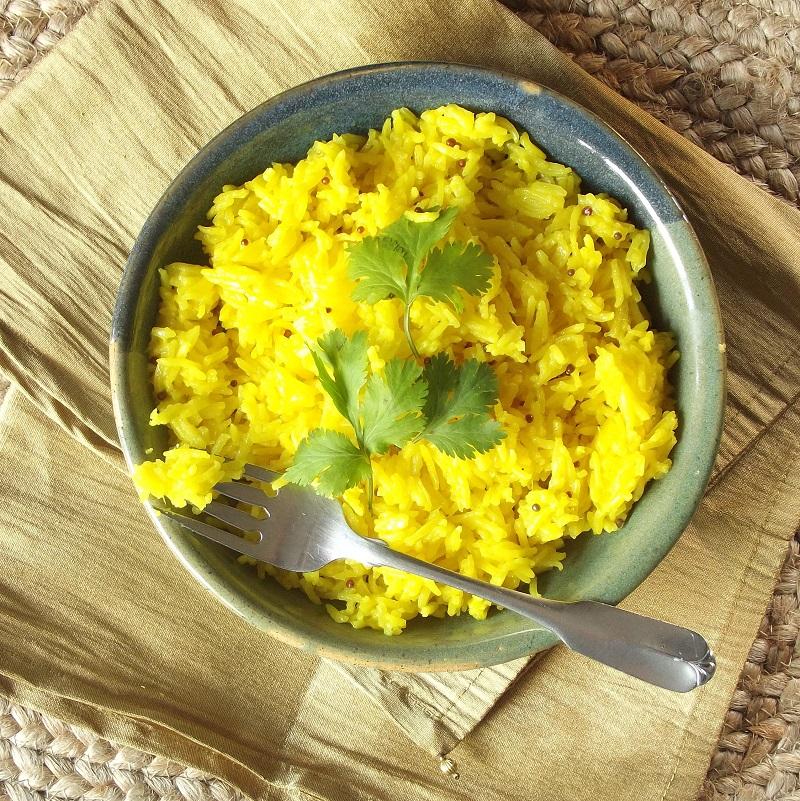 Lemon Ginger Basmati Rice Connoisseurus Veg