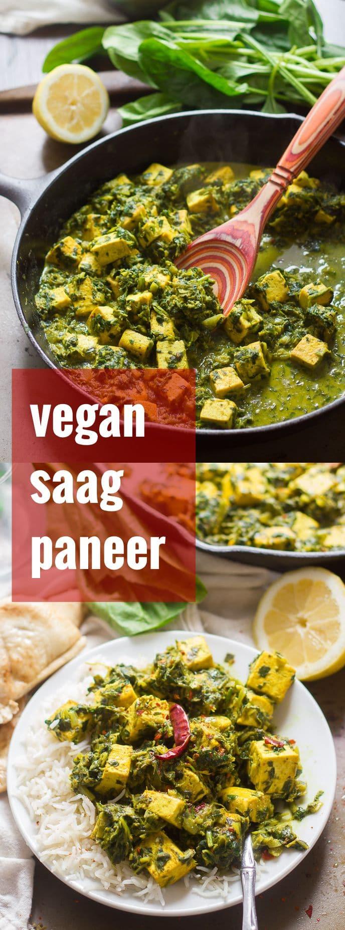Vegan Saag Paneer