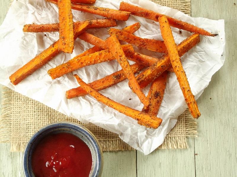 zaatar carrots top