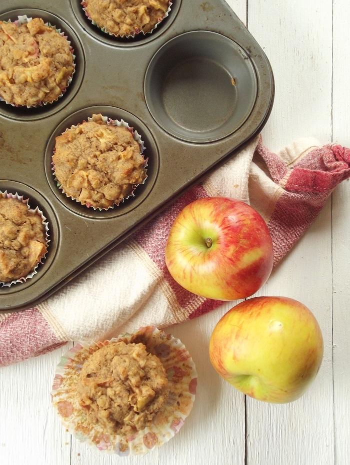 Apple Chunk Apple Cider Muffins