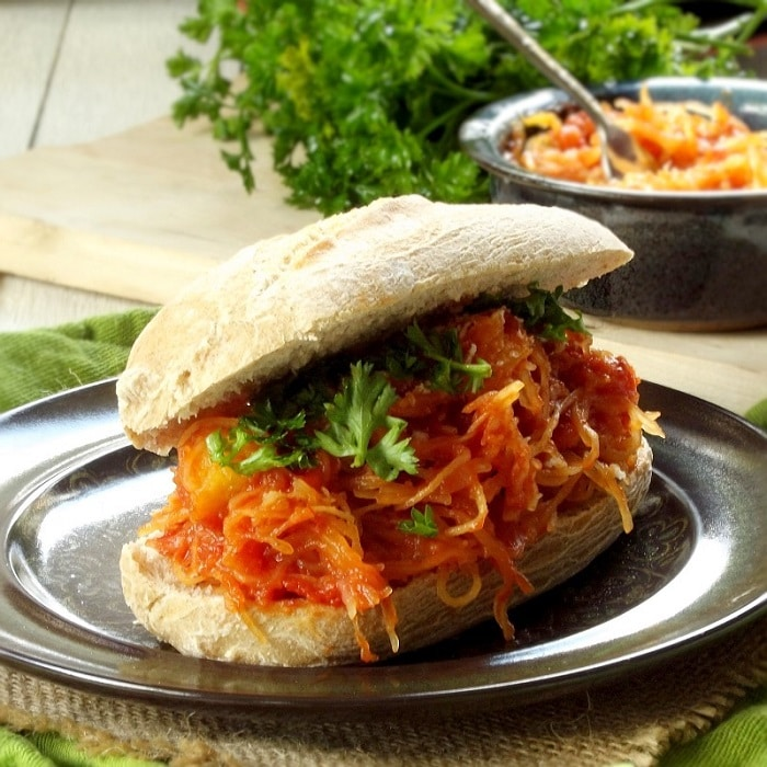 spaghetti squash sandwich featured2