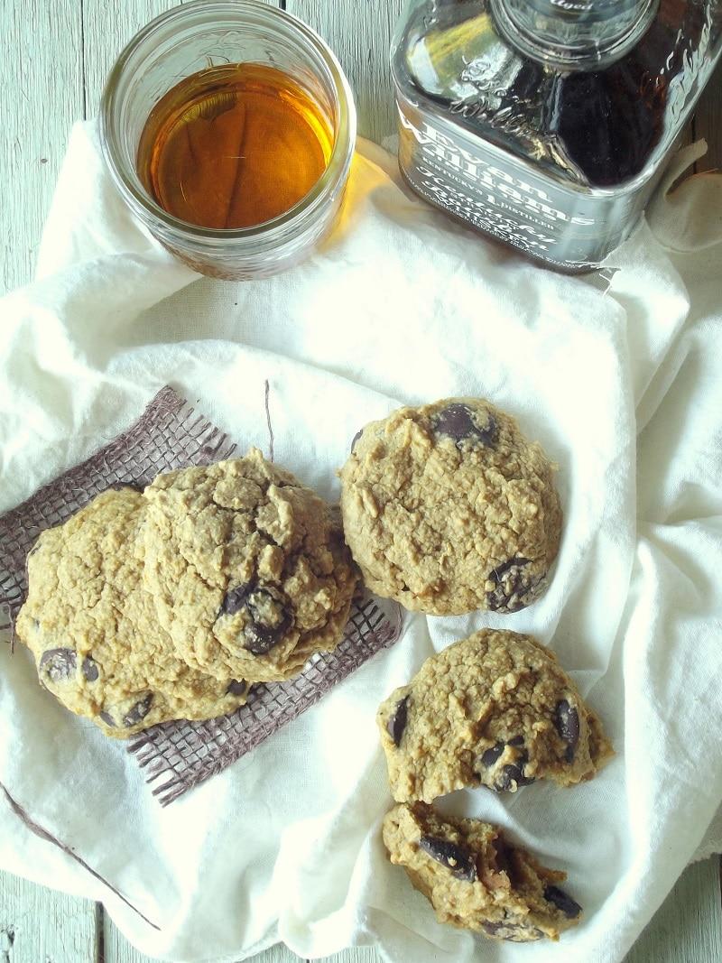 whiskey sweet potato scones top portrait