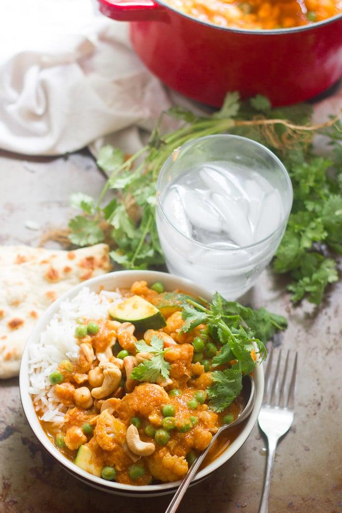 Creamy Coconut Milk Vegan Korma