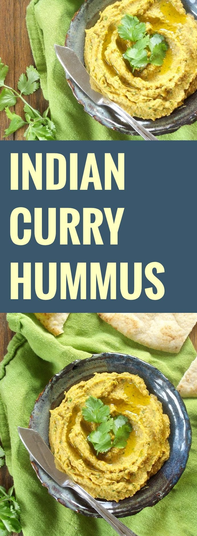 Indian Curry Hummus