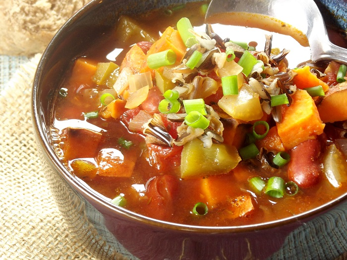 Sweet Potato Vegan Gumbo