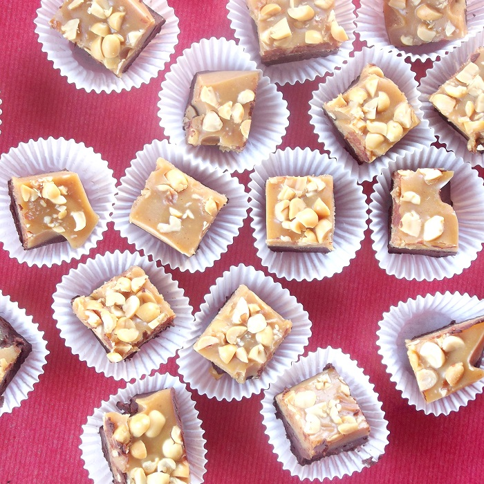 Peanut Butter Chocolate Vegan Fudge