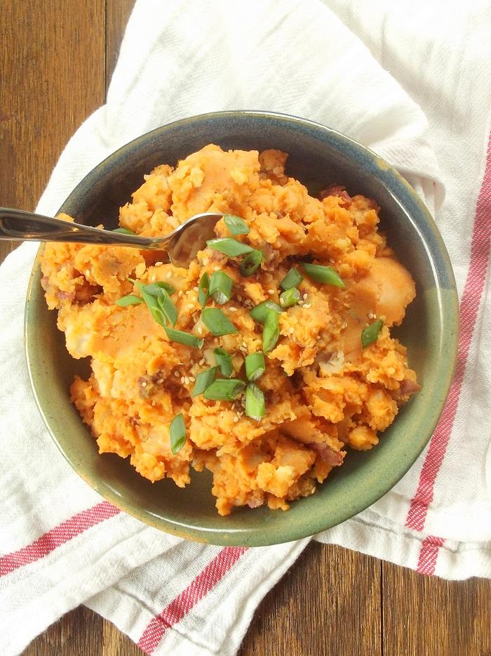 Gochujang Mashed Potatoes