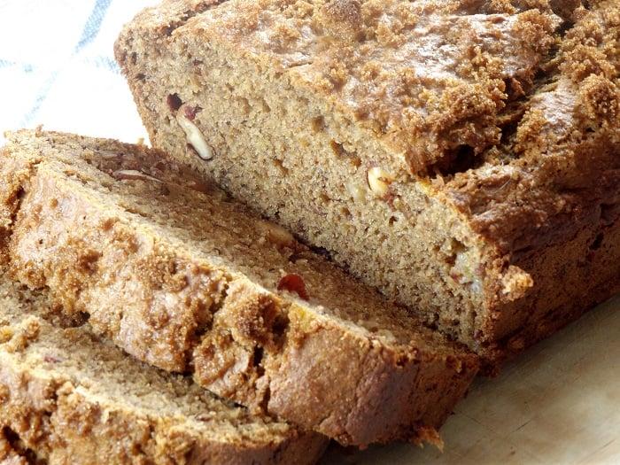 Peanut Butter Banana Bread - Connoisseurus Veg