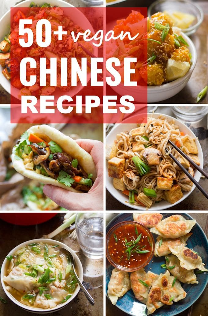 50+ Chinese Inspired Vegan Recipes for Chinese New Year