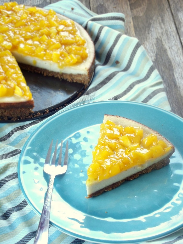 how to make mango topping for cheesecake