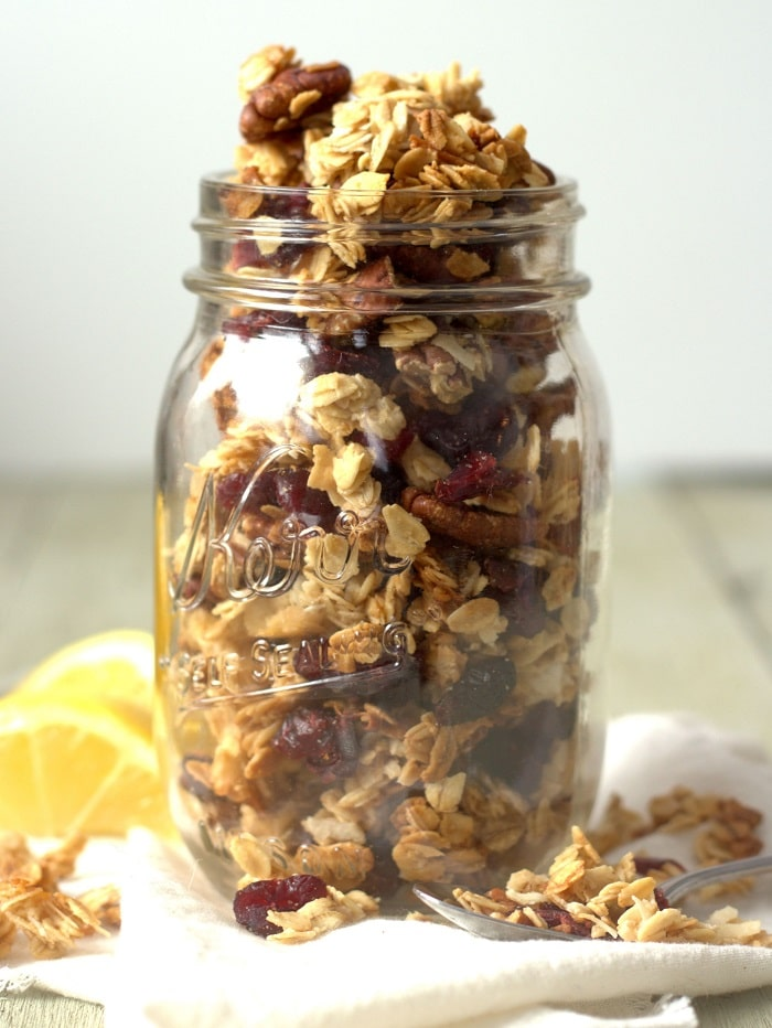 Cherry Lemon Granola