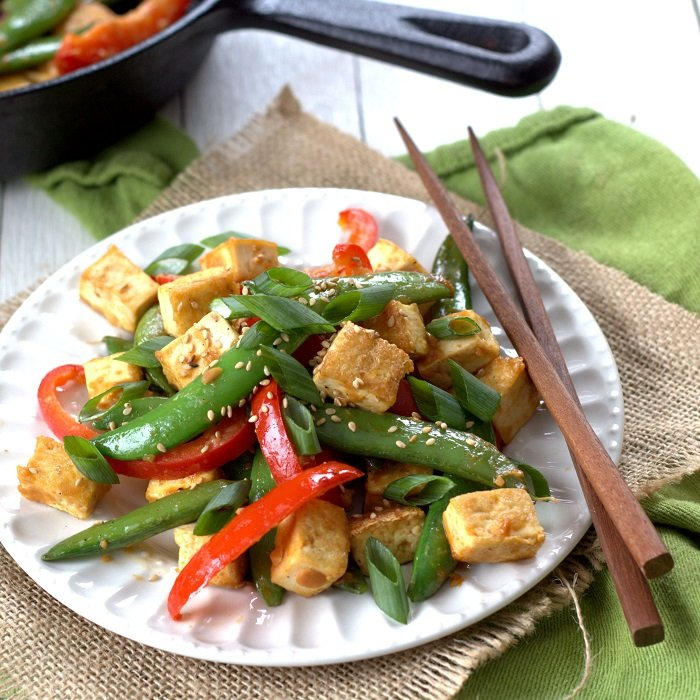 Miso Vegetables & Tofu Recipe — Dishmaps