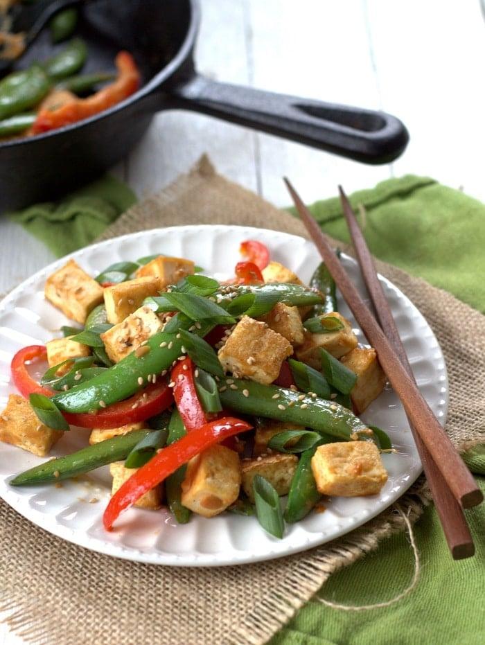serves 4 veggie and miso tofu stir fry this light miso tofu stir fry ...