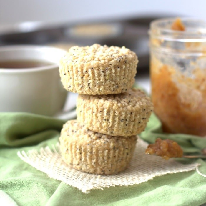 83 Vegan Brunch Recipes: Quinoa Lime Poppy Seed Muffins