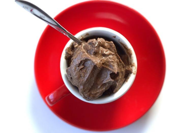 No Churn Raw Vegan Chocolate Ice Cream