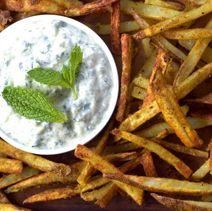 Baked French Fries With Indian Spices (Cumin & Coriander) Recipes ...