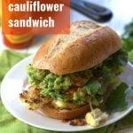 Mexican Cauliflower Steak Sandwiches