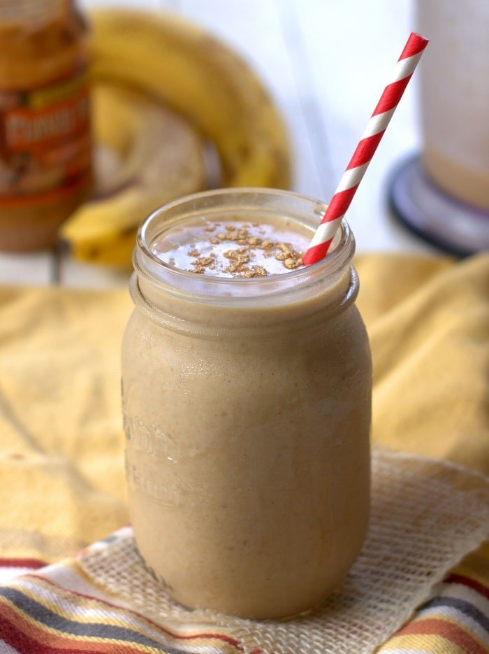 Peanut Butterscotch Maca Smoothie