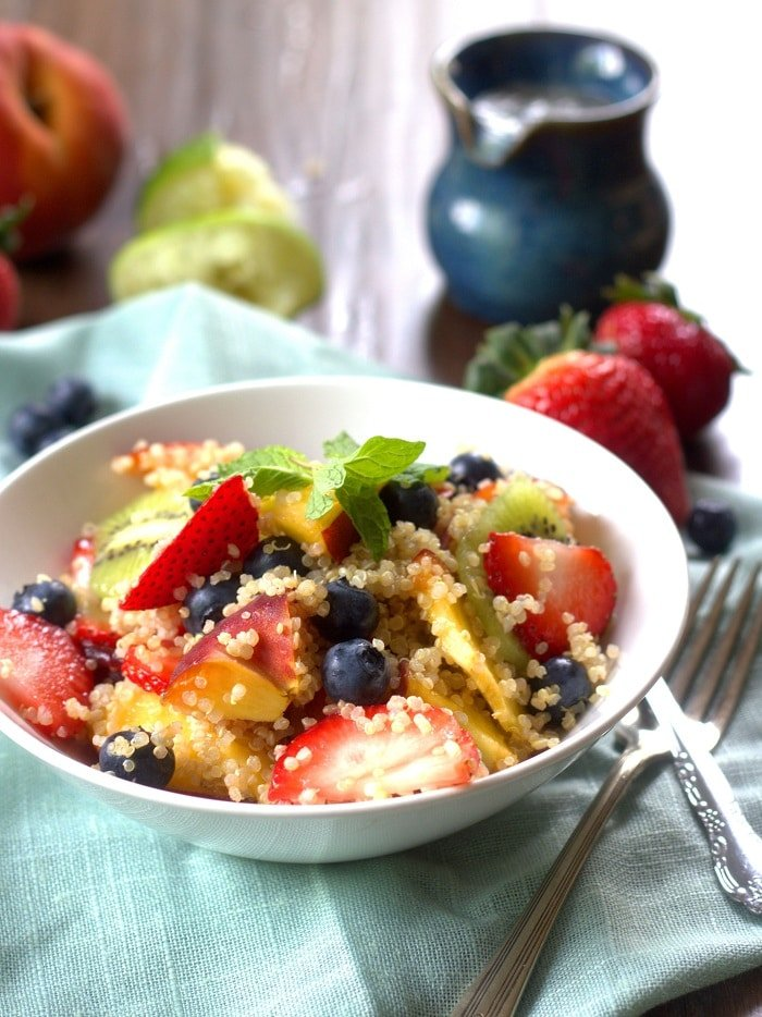 zesty lime and ginger winter fruit salad recipes dishmaps zesty lime ...