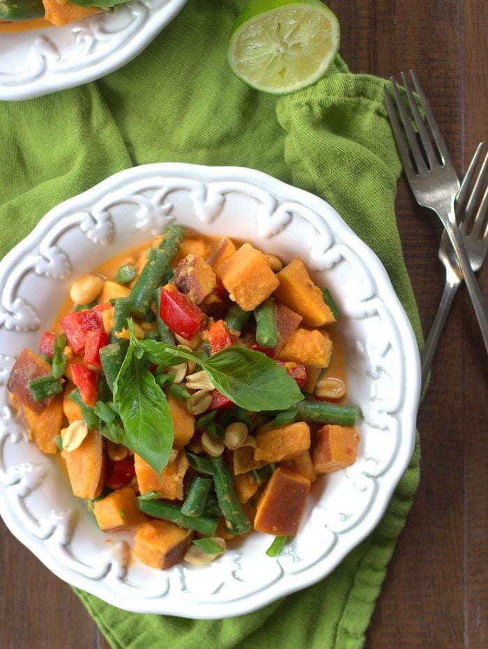 Thai Sweet Potato Salad