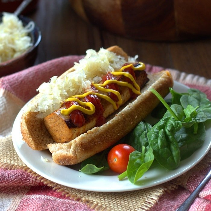 Marinated Tofu Franks