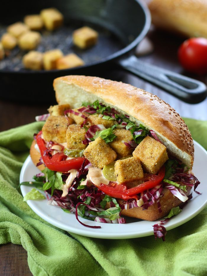Vegan Po' Boy Sandwiches