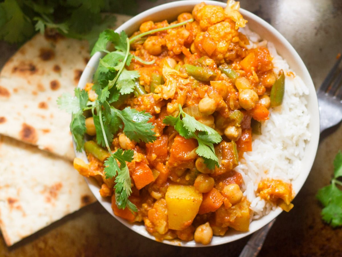Easy Mixed Vegetable Curry Connoisseurus Veg