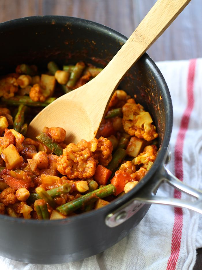 Easy Mixed Vegetable Curry