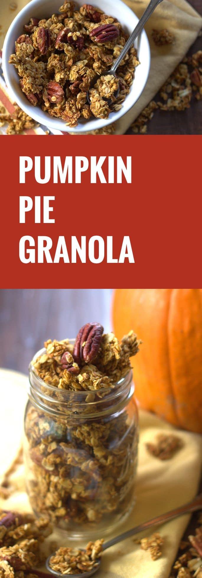 Pumpkin Pie Granola - Connoisseurus Veg